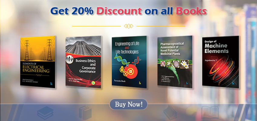 Get 20% Discount on all Books