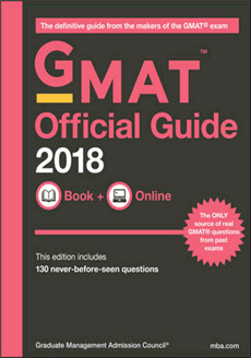 GMAT Official Guide 2018 (Book+Online)