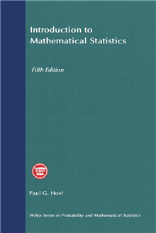 Introduction to Mathematical Statistics, 5th Edition