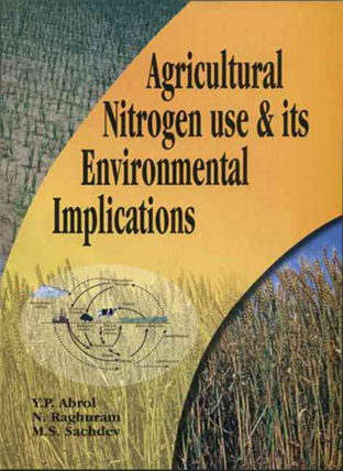 Agricultural Nitrogen Use and its Environmental Implications  , 1/e