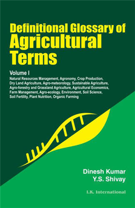 Definitional Glossary of Agricultural Terms  (Two Volume Set), 1/e