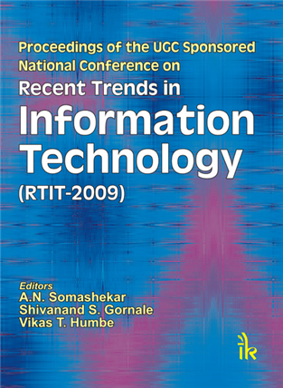 Recent Trends in Information Technology (RTIT-2009), 1/e