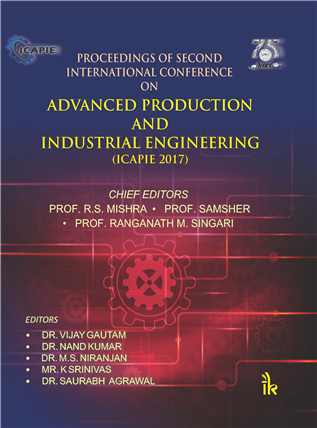 Proceedings of Second International Conference on: Advanced Production and Industrial Engineering -ICAPIE 2017