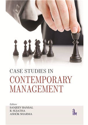 Case Studies in Contemporary Management, 1/e
