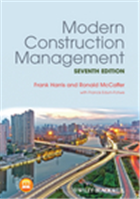 Modern Construction Management, 7th Edition, 7/e  by Frank Harris