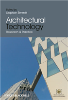 Architectural Technology: Research and Practice, 1/e  by Stephen Emmitt