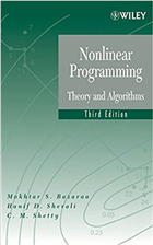 Nonlinear Programming: Theory and Algorithms, Third Edition by  Mokhtar S. Bazaraa