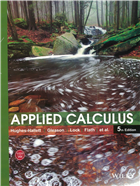 Applied Calculus, 5th Edition by  Hughes-Hallett