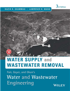 Fair, Geyer, and Okun's, Water and Wastewater Engineering: Water Supply and Wastewater Removal, 3rd Edition, 3/e  by  Nazih K. Shammas