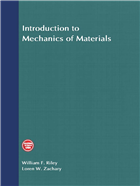 Introduction to Mechanics of Materials by  William F. Riley