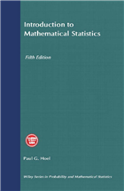 Introduction to Mathematical Statistics, 5th Edition by  Paul G. Hoel
