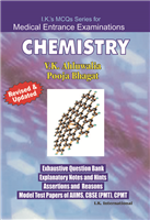 MCQs CHEMISTRY : Includes Pre solved Papers of Five Years, 1/e  by V.K. Ahluwalia