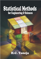 Statistical Methods for Engineering and Sciences, 1/e  by H C Taneja