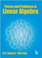 Theory and Problems of Linear Algebra, 1/e  by R.D Sharma