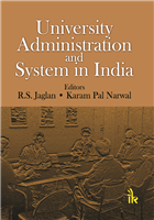 University Administration and System in India  , 1/e  by R.S. Jaglan