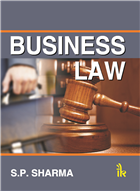 Business Law, 1/e  by S.P. Sharma