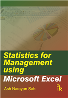 Statistics for Management using MS Excel , 1/e  by A. N. Sah