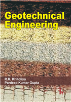 Geotechnical Engineering, 1/e  by R.K. Khitoliya