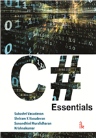 C# Essentials, 1/e  by Subashri Vasudevan