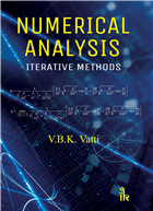 Numerical Analysis: Iterative Methods, 1/e  by V.B.K. Vatti