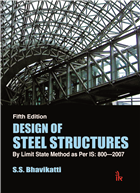 Design of Steel Structures: By Limit State Method as Per IS: 8002007, 5/e  by S.S Bhavikatti