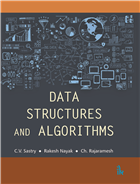 Data Structures and Algorithms by C V Sastry