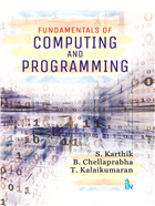 Fundamentals of Computing and Programming by  S. Karthik