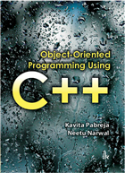 Object-Oriented Programming Using C++ by Kavita Pabreja