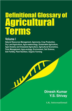 Definitional Glossary of Agricultural Terms  (Two Volume Set)